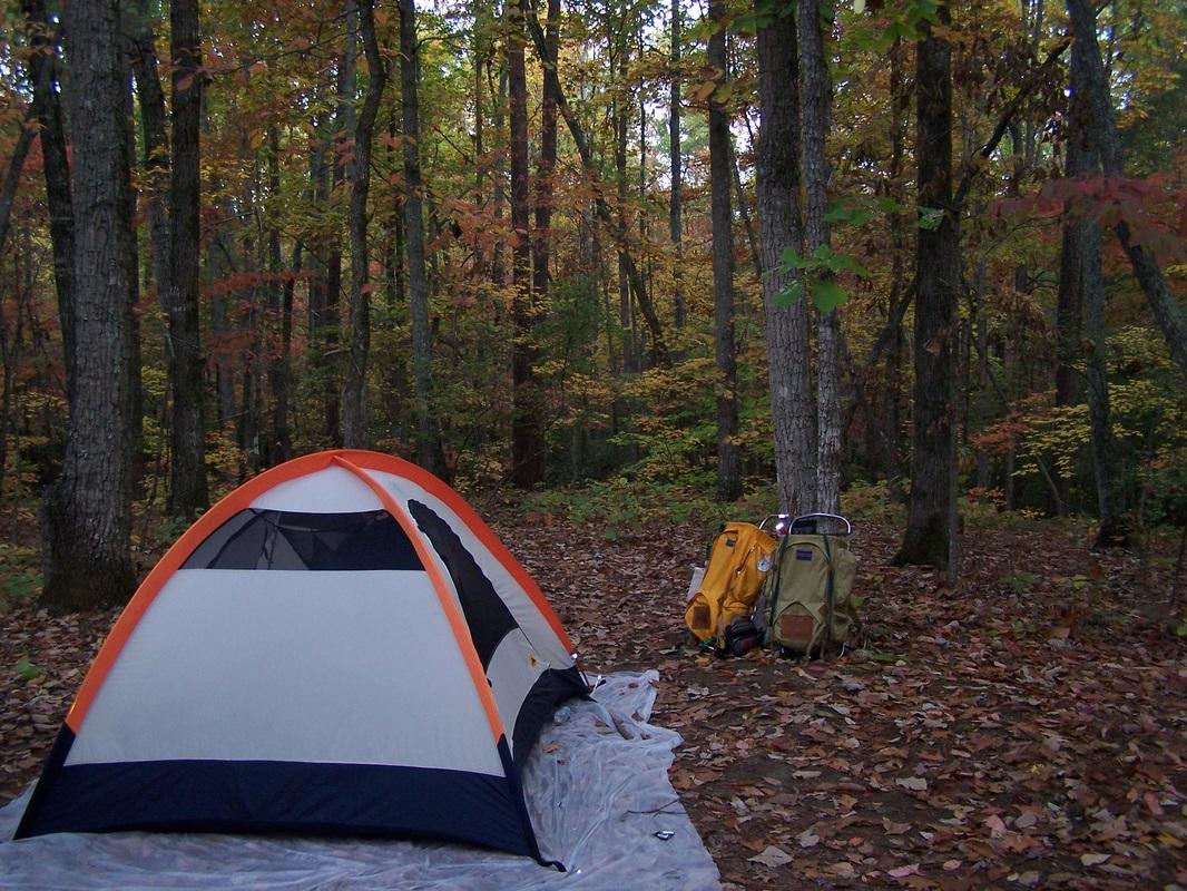 Below ... & Site Descriptions - Pine Mountain Trail Association - GA